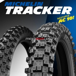 Sada pneu Michelin Tracker (80/100 R21 + 100/90 R19) - MX2