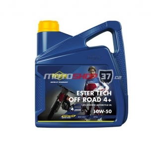 Olej Putoline Ester Tech Off Road 4+ 10W50 4l