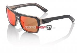 47ed31ee416 Sluneční brýle 100% Burgett Spectrum Graphite - Red Multibase Lens empty